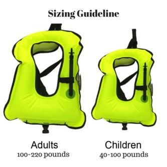 Adult and Children Snorkel Vest