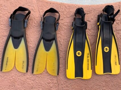 Adjustable Snorkel fins